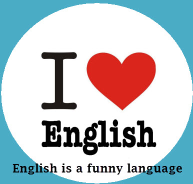 english is a funny language No wonder the english language is so very difficult to learn i sometimes wonder how we manage to communicate at all we'll begin with a box and the plural.